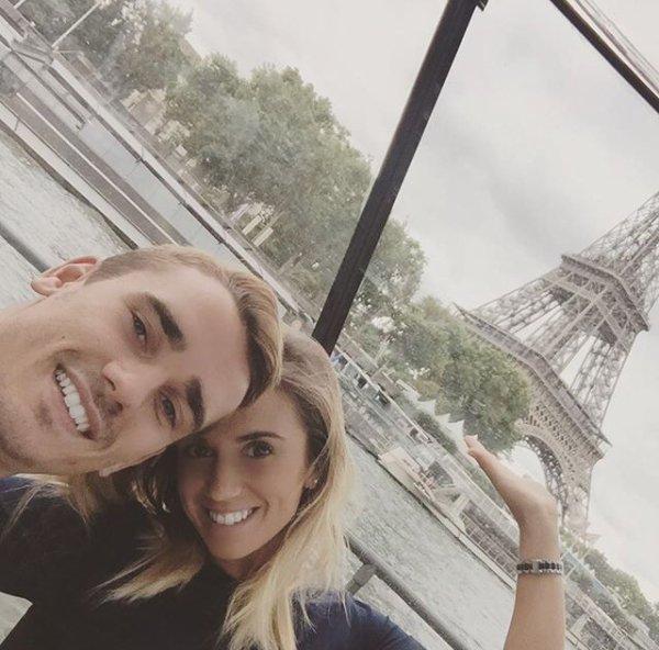 Erika & Antoine Griezmann à Paris