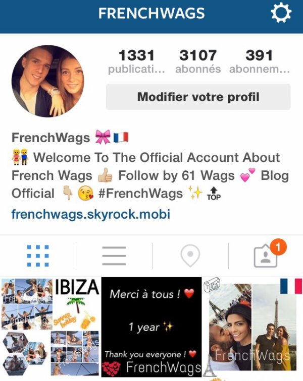 Follow FrenchWags sur Instagram !