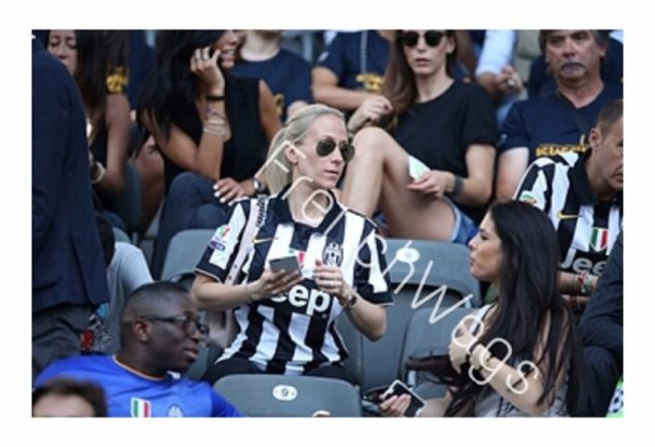 Exclusivité FrenchWags ! Sandra Evra & Lisa Pogba lors de la finale de la Champions League