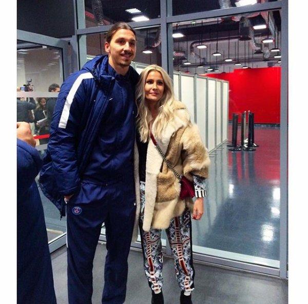 Rebecca & Zlatan a l'Allianz Riviera