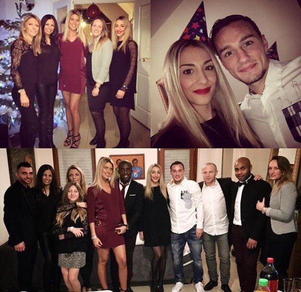 Elodie & Rio, Valérie & Florent, Ornella & Éric et Sonia & Marvin fêtent le réveillon