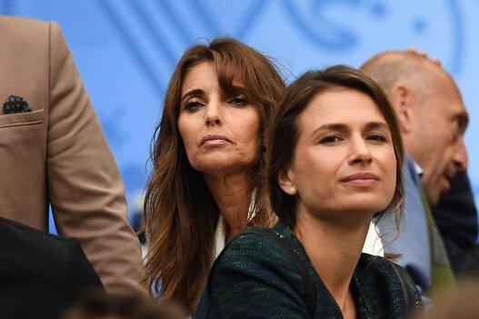 Claude Deschamps au Stade de France pour France - Islande