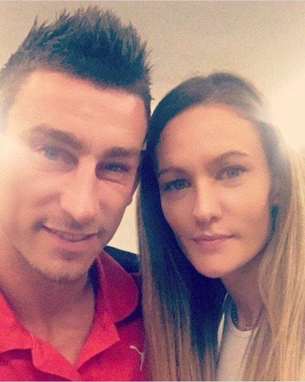 Claire & Laurent Koscielny
