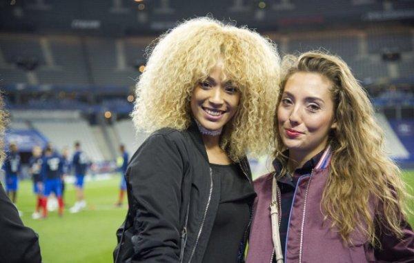Sephora & Tiziri lors de France - Bulgarie