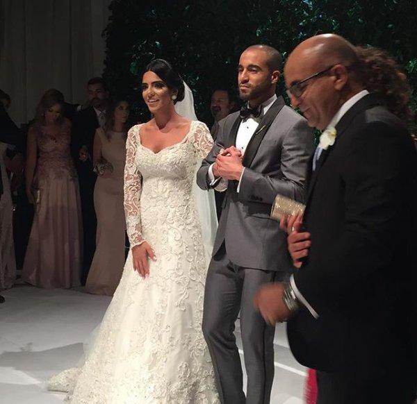 Larissa & Lucas lors de leur mariage!