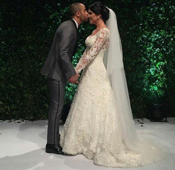 Lucas Moura De Que Pais Es: Larissa & Lucas Moura Lors De Leur Mariage!