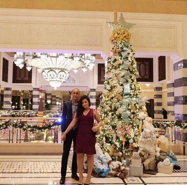 Rebeca & Fabinho lors de Noël!