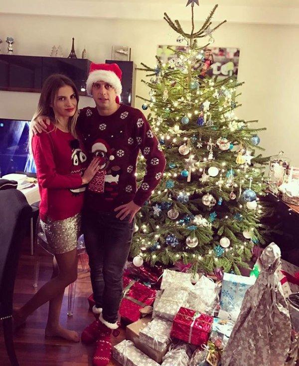 Dominika & Kamil Grosicki lors de Noël!