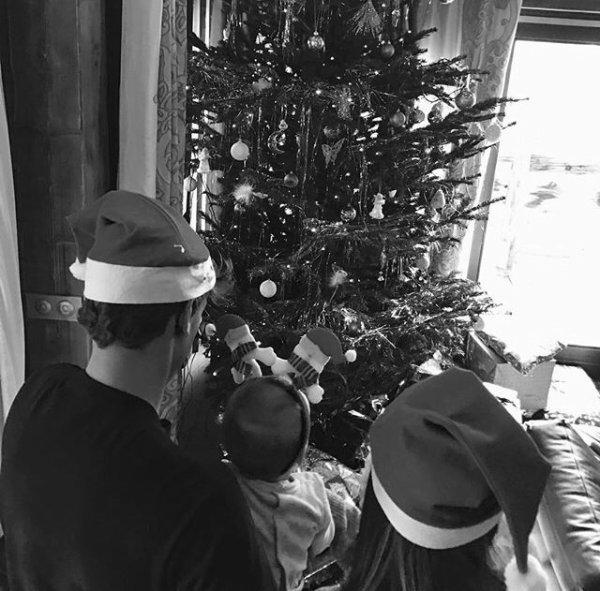 Erika & Antoine Griezmann lors de Noël!
