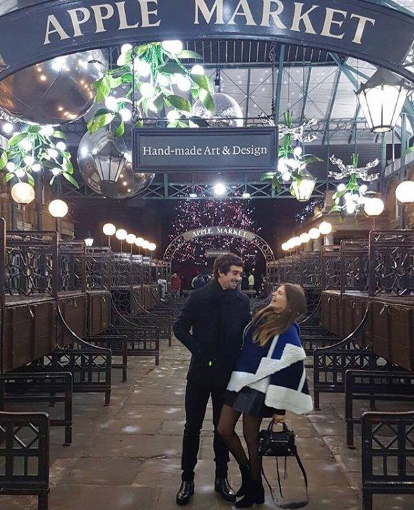 Juliette & Gregoire Puel lors de Noël!