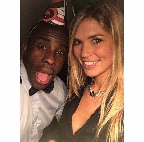 Élodie & Rio Mavuba fêtent le réveillon!
