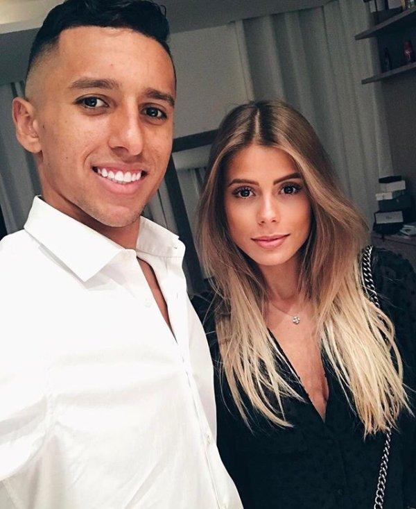 Carol & Marquinhos pendant PSG - Metz