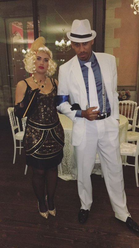 Alysha & Pierre Emerick Aubameyang