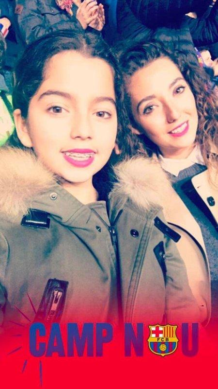 Tiziri & Tiya au Camp Nou