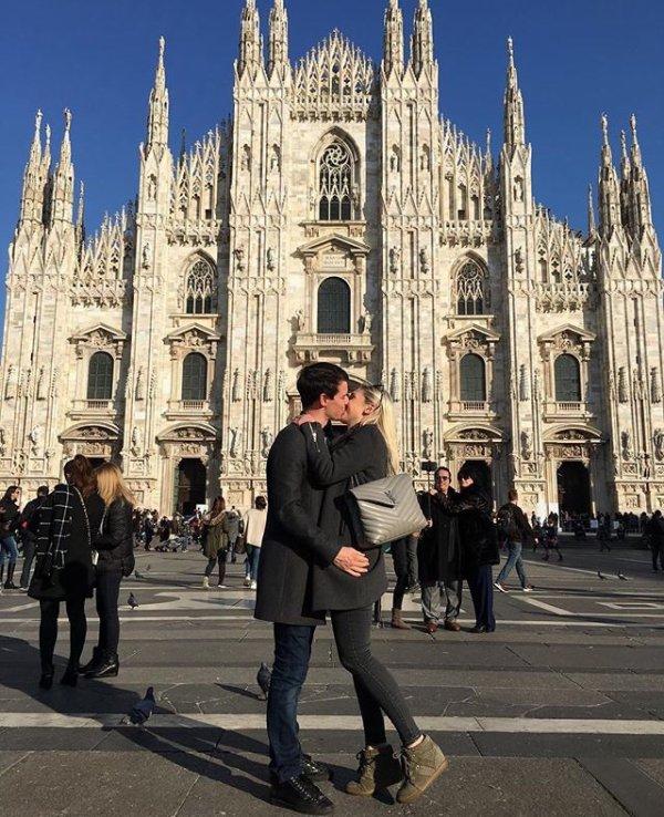 Mathilde & Nicolas Husson à Milan