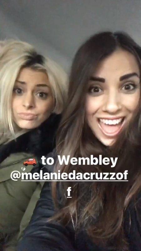 Mélanie à Londres avant Manchester United - Sunderland