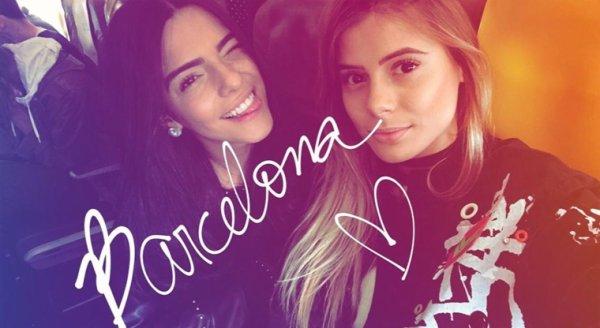 Larissa & Carol à Barcelone