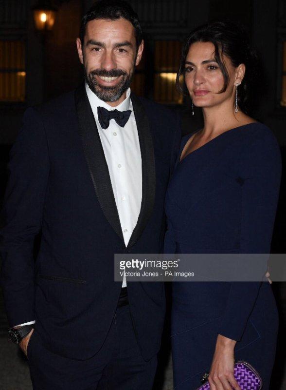 Jessica & Robert Pires lors d'un dîner a l'ambassade du Royaume-Uni à Paris