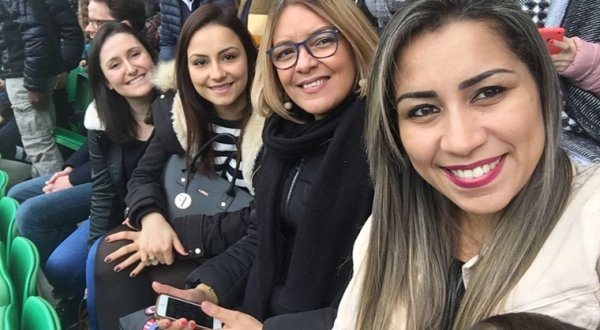 Naiia, Cristiana & Aline au stade de La Beaujoire