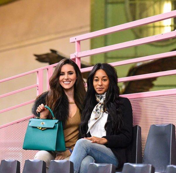 Celia & Deborah lors du Jumping Hermès au Grand Palais