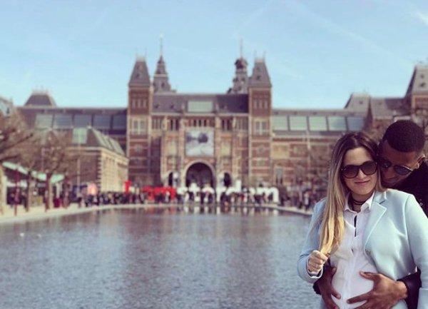 Catiia & Cafu a Amsterdam