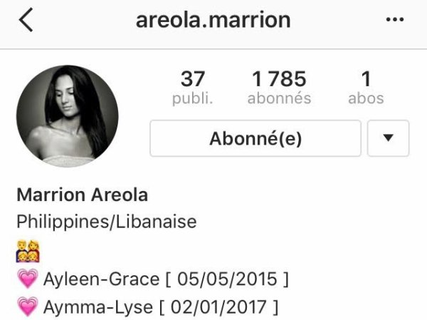 Histoire d'une FrenchWags: Marrion