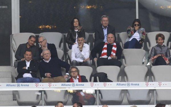 Wahiba Ribéry à l'Allianz Arena