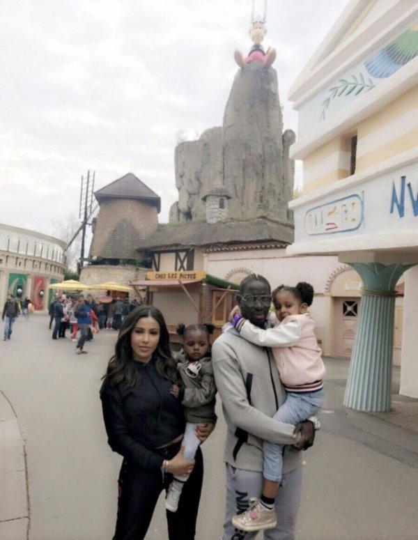 Majda & Mamadou Sakho avec leurs filles