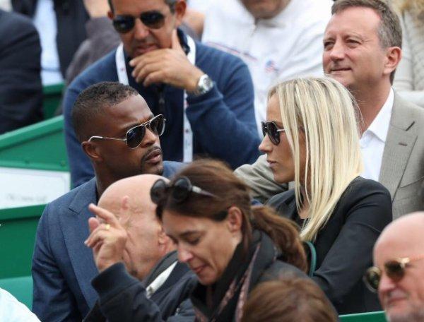 Sandra & Patrice Evra à Monaco pour les Rolex Mastees