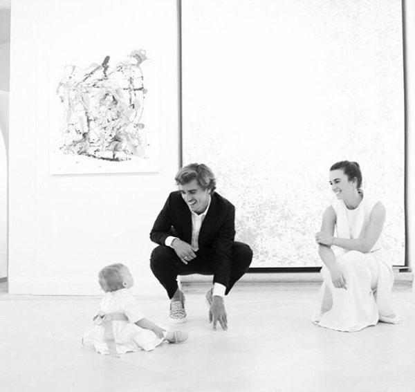 Erika, Mía & Antoine Griezmann