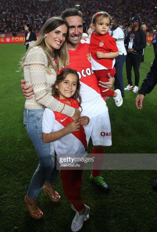 Ana & João Moutinho fêtent le titre de l'AS Monaco à Louis II