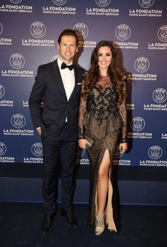 Celia & Grzegorz Krychowiak au Gala de la Fondation PSG