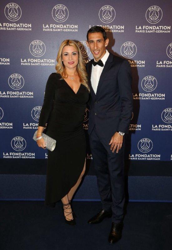 Jorgelina & Angel Di Maria au Gala de la Fondation PSG