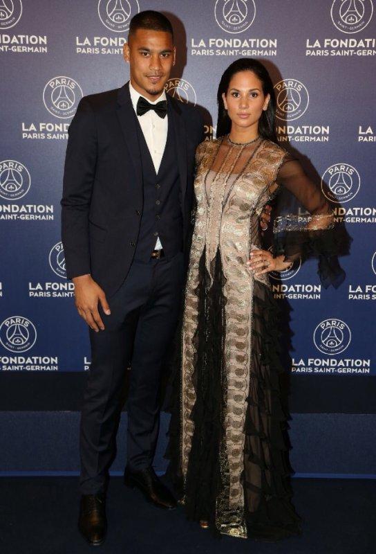 Marrion & Alphonse Areola au Gala de la Fondation PSG