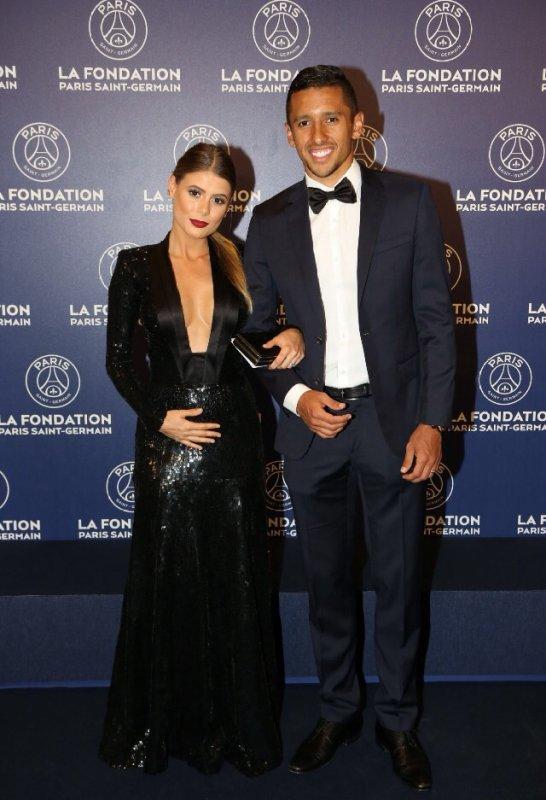 Carol & Marquinhos au Gala de la Fondation PSG
