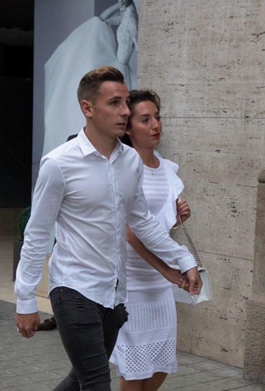 Tiziri & Lucas Digne