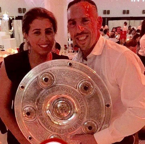 Wahiba & Franck Ribéry
