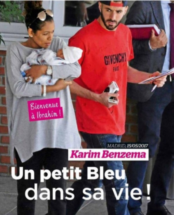 Cora & Karim Benzema sont devenus parents!