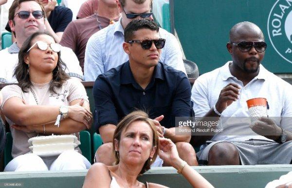 Isabelle & Thiago Silva à Roland Garros