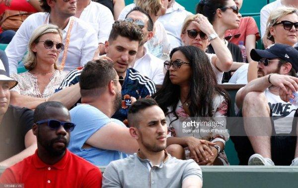 Déborah & Thomas Meunier à Roland Garros