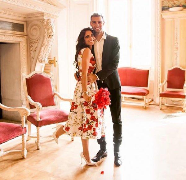 Chiara & Javier Pastore se sont mariés le 24 Mai à Paris!