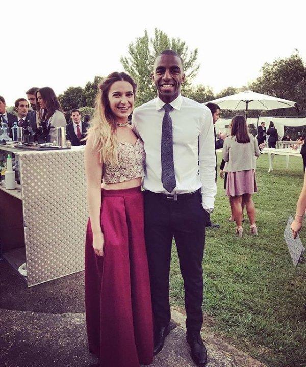 Daniela & Ricardo Pereira au mariage de Rita & Afonso!