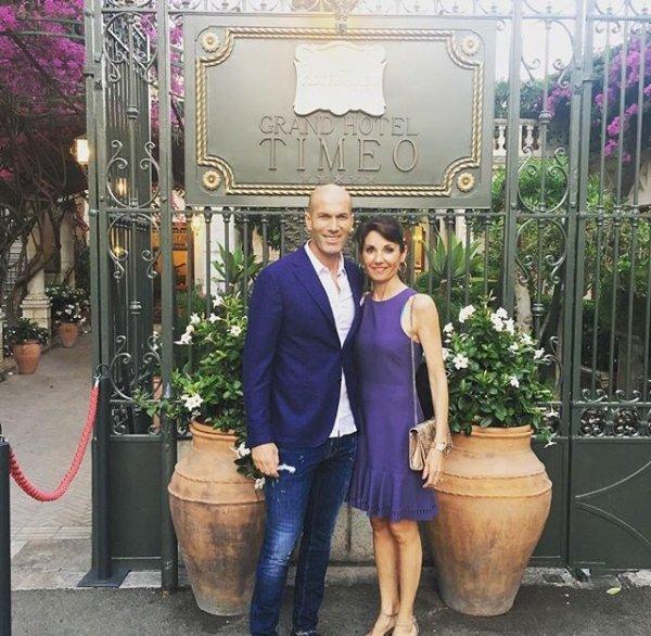 Véronique & Zinedine Zidane en Italie