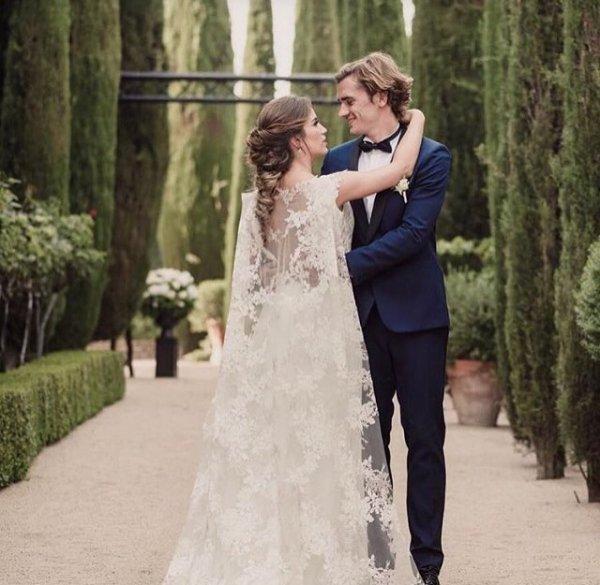 Erika & Antoine Griezmann se sont mariés le 16 Juin à Tolède!