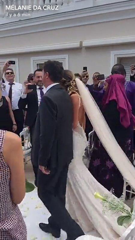 Camille & Morgan Schneiderlin se sont mariés le 17 Juin à Eze!