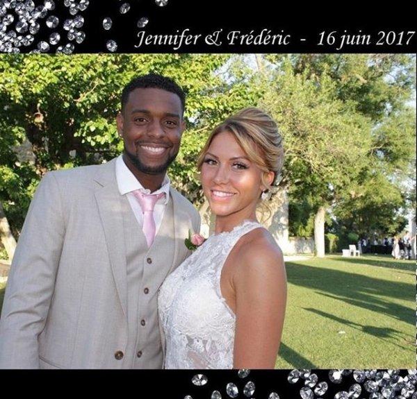Félicitations à Jennifer & Frédéric Piquionne