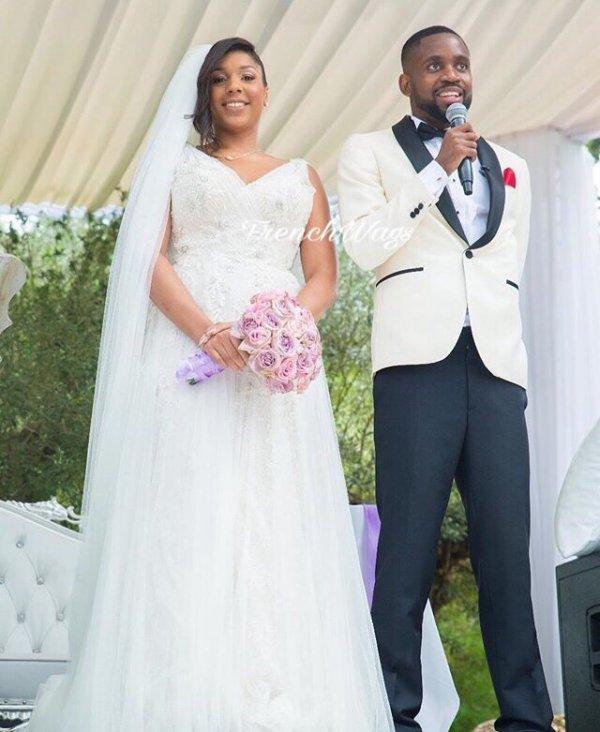 Félicitations à Anna & Cedric Bakambu