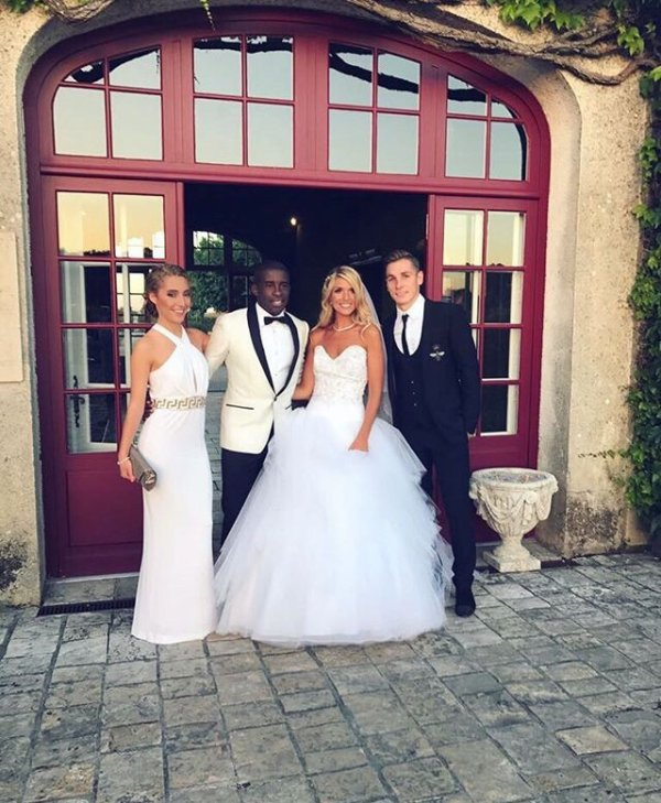Félicitations à Élodie & Rio Mavuba!
