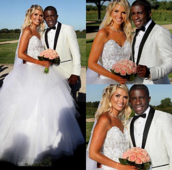 Élodie & Rio Mavuba se sont mariés le 17 Juin!