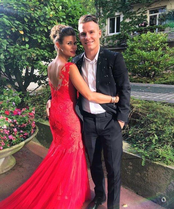 Lina & Kevin Gameiro au mariage d'Isabelle & Blaise Matuidi